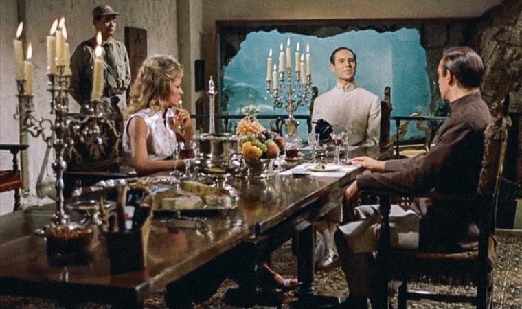 """05 dr. no dinner - """"007 Contra o Satânico Dr. No"""", de Terence Young, no TELECINE"""