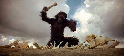 2001 a space odyssey ape - 2001 - Uma Odisseia com Infinitas Possibilidades