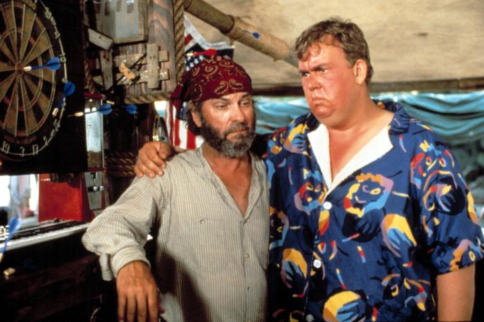 Summer Rental 1985 John Candy Rip Torn comedy - O legado do inesquecível JOHN CANDY