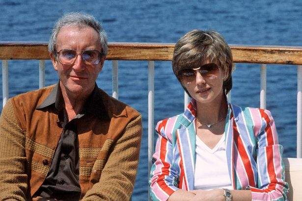 0 Peter Sellers with his wife Lynn Frederick - O genial e inesquecível Peter Sellers