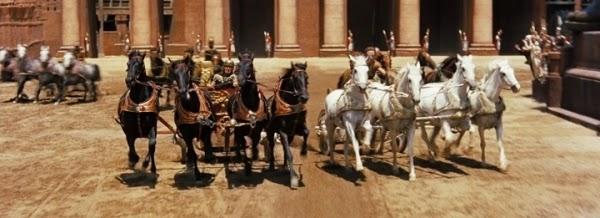 """Chariot Race Ben Hur - Analisando cenas de """"Ben-Hur"""", filme que despertou minha paixão por cinema"""