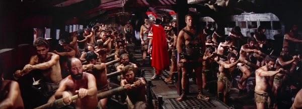 "ben hur ship rowers1 - Analisando cenas de ""Ben-Hur"", filme que despertou minha paixão por cinema"