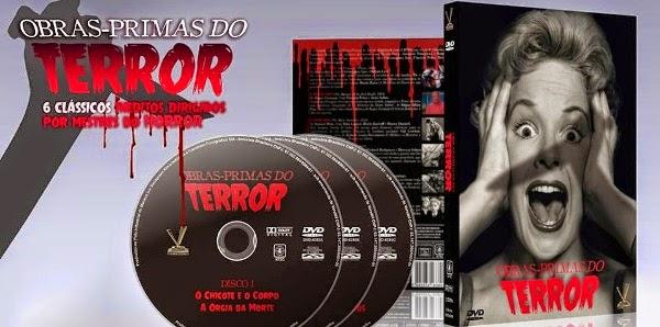 """Obras PrimasdoTerrorcoleC3A7C3A3oDVD - Faces do Medo - """"A Aldeia dos Amaldiçoados"""""""