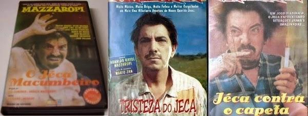 """vhs dublado mazzaropi o jeca macumbeiro vitorsvideo 13701 MLB128458137 1907 O - Rebobinando o VHS - """"O Jeca Macumbeiro"""", """"Tristeza do Jeca"""" e """"Jeca Contra o Capeta"""""""