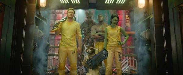 Guardians of the Galaxy Behind The Scenes 4 - Os Melhores Filmes do Ano - 2014