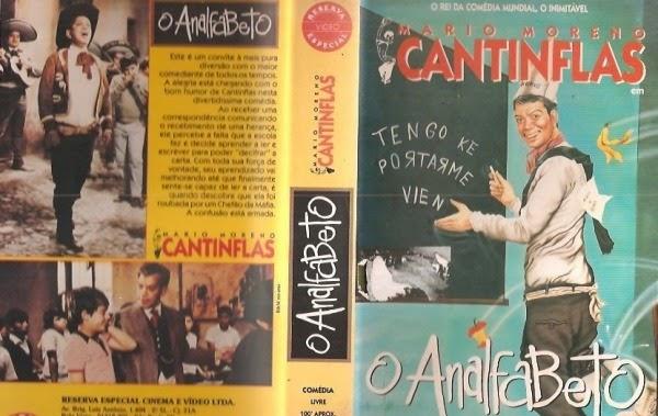 """vhs o analfabeto cantinflas original e raro 16569 MLB20121888709 072014 F - Rebobinando o VHS - """"O Analfabeto"""""""