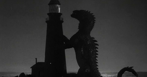 "beast from 20000 fathoms1 - ""O Monstro do Mar"" (1953) e ""Godzilla"" (1954)"