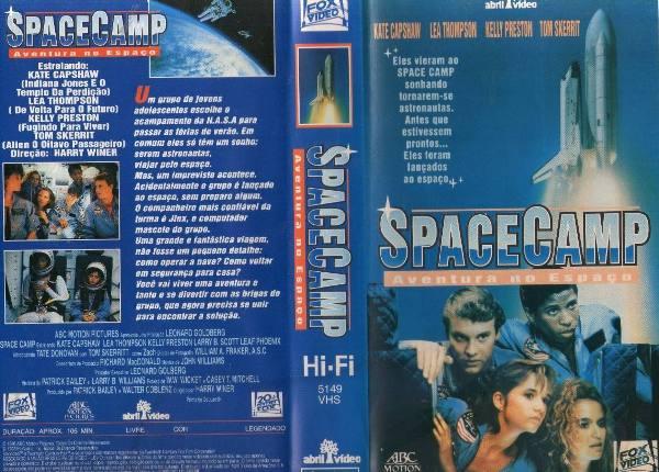 """spacecamp aventura no espaco kate capshaw raro 21914 MLB20219893592 122014 F - Rebobinando o VHS - """"Space Camp - Aventura no Espaço"""""""