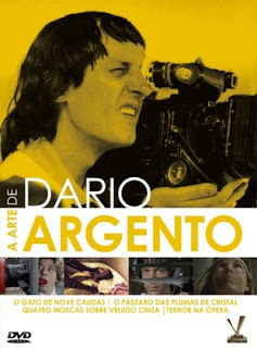 """46065212 - Cine Giallo - """"O Gato de Nove Caudas"""" e """"Terror na Ópera"""", de Dario Argento"""