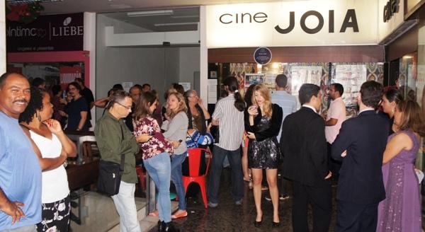 """DSC00111 - Exibição dos curtas """"Übermensch"""", """"Teresa"""" e """"Surpresa!"""" no Cine Joia"""
