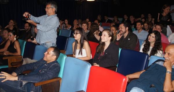 """DSC00140 - Exibição dos curtas """"Übermensch"""", """"Teresa"""" e """"Surpresa!"""" no Cine Joia"""