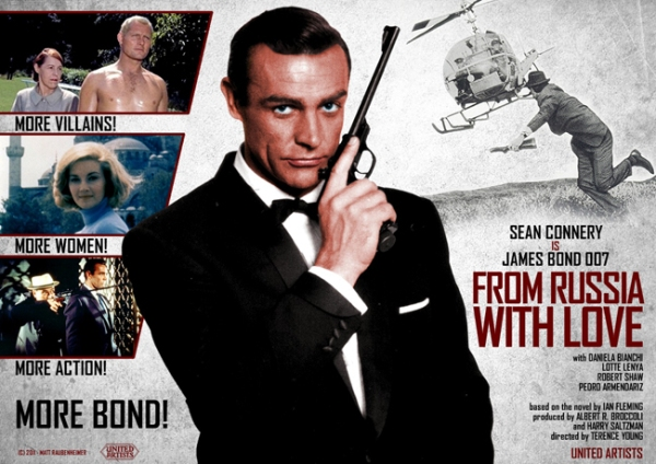 From Russia with Love Poster - TOP - Os Filmes de James Bond