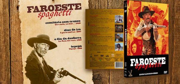 """SPAGUET - Faroeste Spaghetti - """"Dias de Ira"""", """"Tepepa"""", """"Cemitério Sem Cruzes"""" e """"O Dia da Desforra"""""""