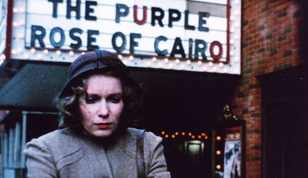 "purple rose image 2 1 - ""A Rosa Púrpura do Cairo"", de Woody Allen"