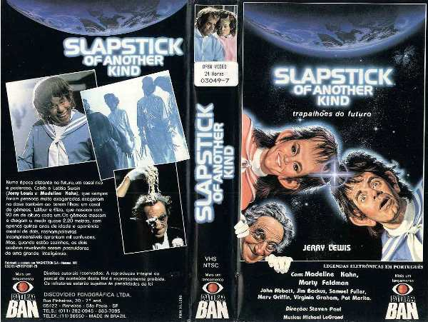 "slapstick of another kind trapalhoes do futuro raro 22734 MLB20235771277 012015 F - Rebobinando o VHS - ""Trapalhões do Futuro"""