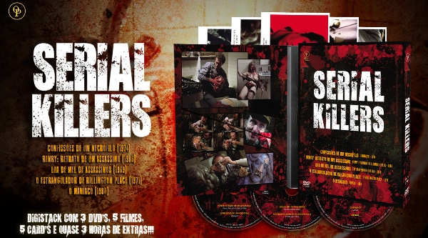 SERIAL KILLERS - Faces do Medo - Filmes sobre Serial Killers