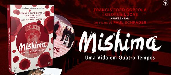 """MISHIMA UMA VIDA EM QUATRO TEMPOS - Tesouros da Sétima Arte - """"Mishima: Uma Vida em Quatro Tempos"""""""