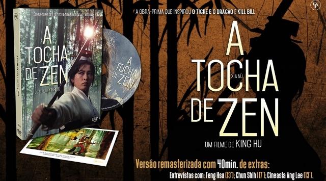 """A TOCHA DE ZEN FINAL 1024x61428640x35529 - Cine Samurai - """"A Tocha de Zen"""", de King Hu"""