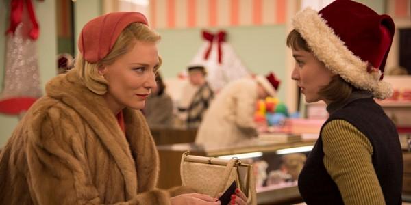 o CAROL CATE BLANCHETT ROONEY MARA facebook - Os Melhores Filmes do Ano - 2016