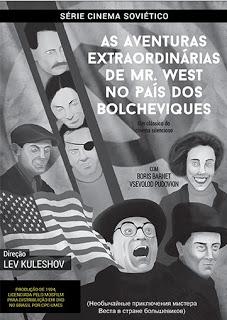 """244 thickbox default - """"As Aventuras Extraordinárias de Mr. West no País dos Bolcheviques"""", de Lev Kuleshov"""