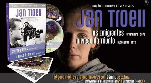 """JAN TROELL 1024x61428640x35329 - Tesouros da Sétima Arte - """"Os Emigrantes"""" e """"O Preço do Triunfo"""", de Jan Troell"""
