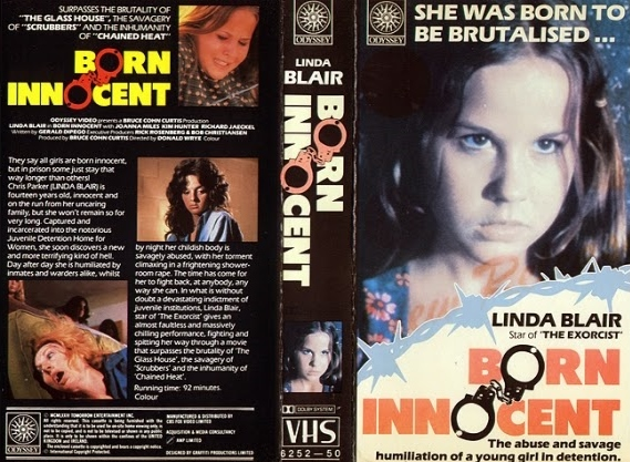 Linda blair born innocent shower are