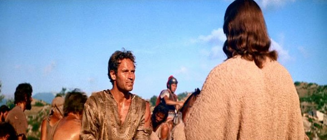 ben hur jesus cristo28640x27529 - A forma como o cinema trabalha a figura de JESUS CRISTO