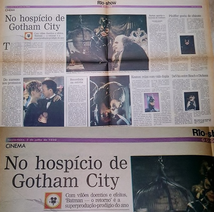 """19692418 10208655520618635 558963171 n - """"Batman - O Retorno"""", de Tim Burton"""