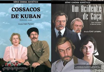 "252 thickbox default - ""Um Acidente de Caça"", de Emil Loteanu / ""Cossacos de Kuban"", de Ivan Pyryev"