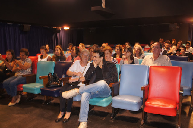 """DSC00846 - Palestra """"O Cinema por Octavio Caruso"""" e exibição do curta """"Se"""" no Cine Joia (Copacabana - RJ)"""