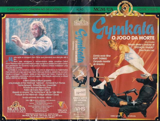 "16.GYMKATA OJOGODAMORTE28VC38DDEOARTE29 - Rebobinando o VHS - ""Gymkata - O Jogo da Morte"""