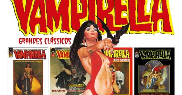 """Mythos Vampirella grandesclassicos coverBG aa - Ciclo de Adaptações de Quadrinhos - """"Vampirella"""" e """"O Monstro do Pântano"""""""