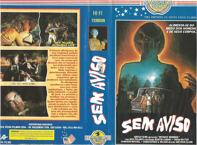 "SemAviso - Rebobinando o VHS - ""Sem Aviso"", o Predador genérico"