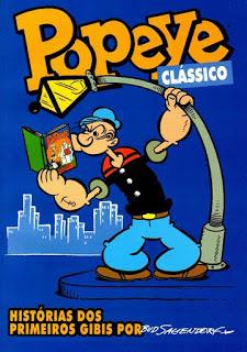 """capa popeye 721x1024 - Ciclo de Adaptações de Quadrinhos - """"O Fantasma"""" e """"Popeye"""""""
