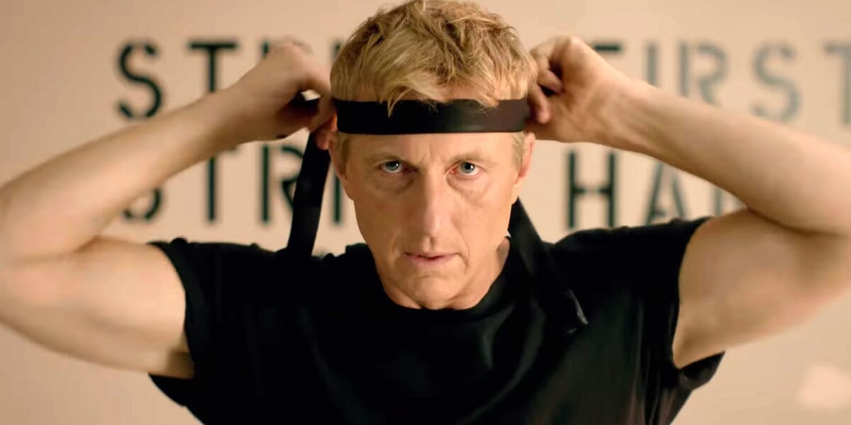 "William Zabka in Cobra Kai - Crítica da primeira temporada da série ""Cobra Kai"", na NETFLIX"