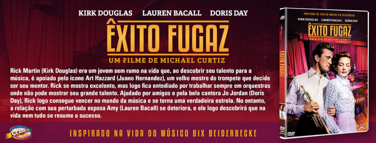 propaganda exito fugaz - 2 ótimos dramas de Michael Curtiz envolvendo o mundo da música