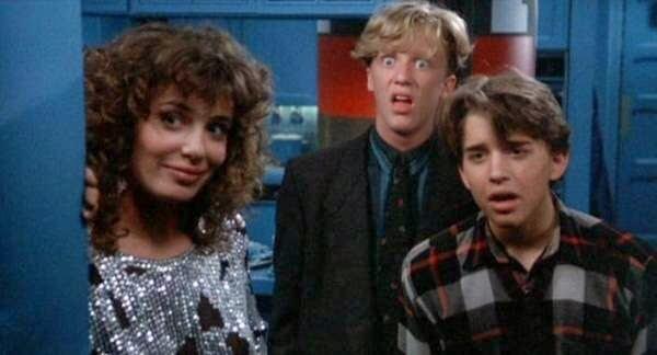 weird science kelly lebrock anthony michael hall ilan mitchell smith - TOP - Comédias Adolescentes Apimentadas dos Anos 80