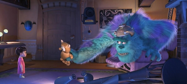 monsters inc boo and sulley toy bear kitty john goodman review - TODOS os filmes do estúdio PIXAR, do PIOR ao MELHOR
