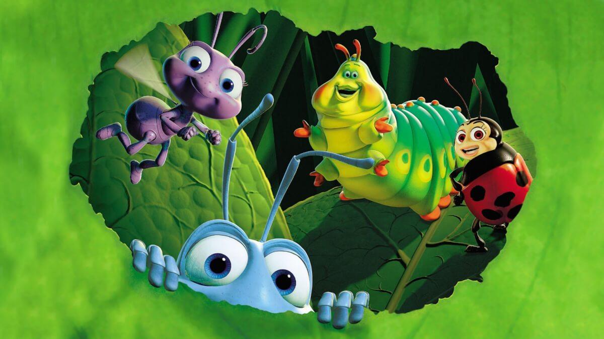 painel 1 50x1 vida de inseto painel - TODOS os filmes do estúdio PIXAR, do PIOR ao MELHOR