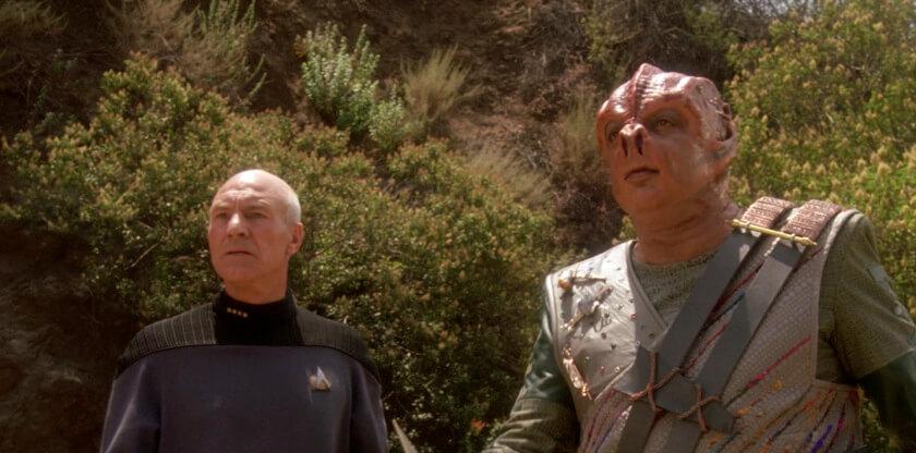 """star trek tng darmok2 - Os 28 melhores episódios da série """"Jornada nas Estrelas - A Nova Geração"""" (1987-1994)"""
