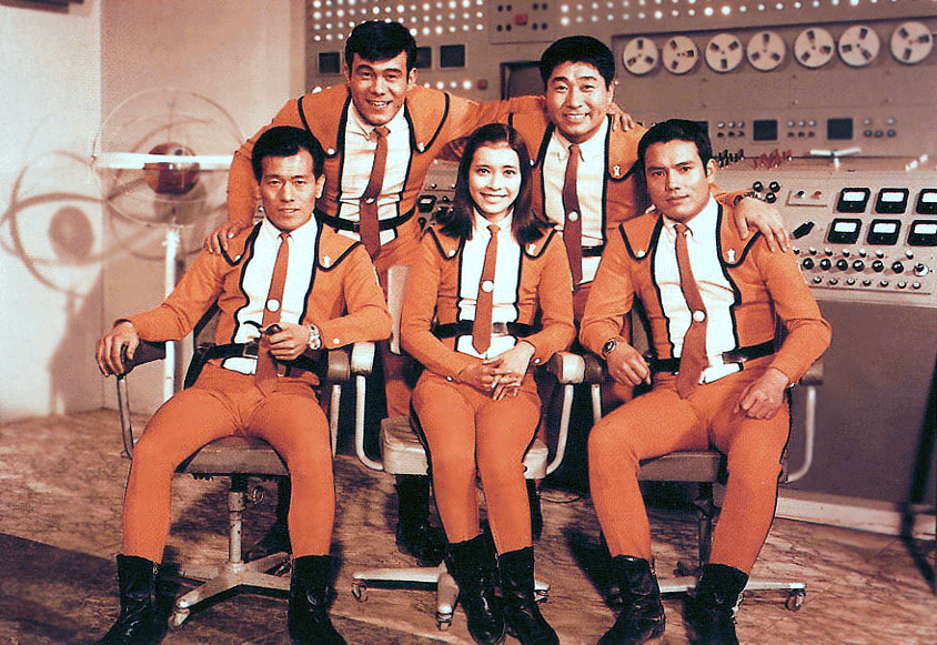 "1966 ultraman science john 5 - Crítica nostálgica da clássica série japonesa ""Ultraman"" (1966-1967)"