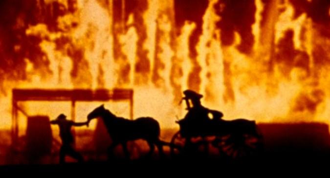 Fire of Atlanta Gone with the Wind - Você acha que sabe tudo de cinema? 7 curiosidades que vão te provar o contrário!