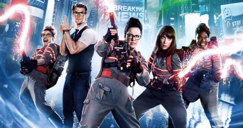 """ghostbusters 2016 - Dan Aykroyd sugere que """"Os Caça-Fantasmas 3"""" está sendo escrito!"""