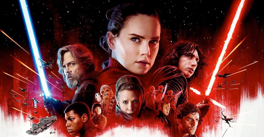 "starwars lastjedi banner frontpage - Simon Pegg diz que ""George Lucas faz falta nos novos STAR WARS"""