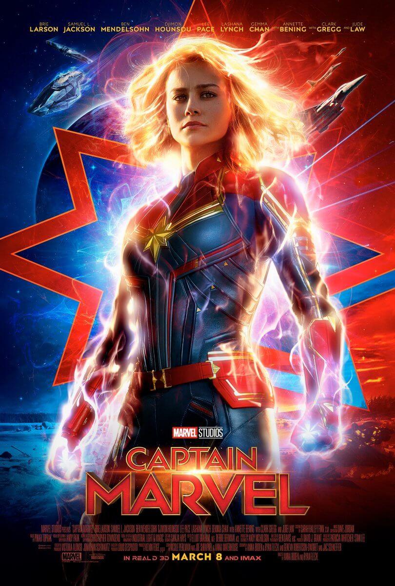 """DtdE 7CXcAU0YyB - """"Capitã Marvel"""" ganha novo pôster!"""