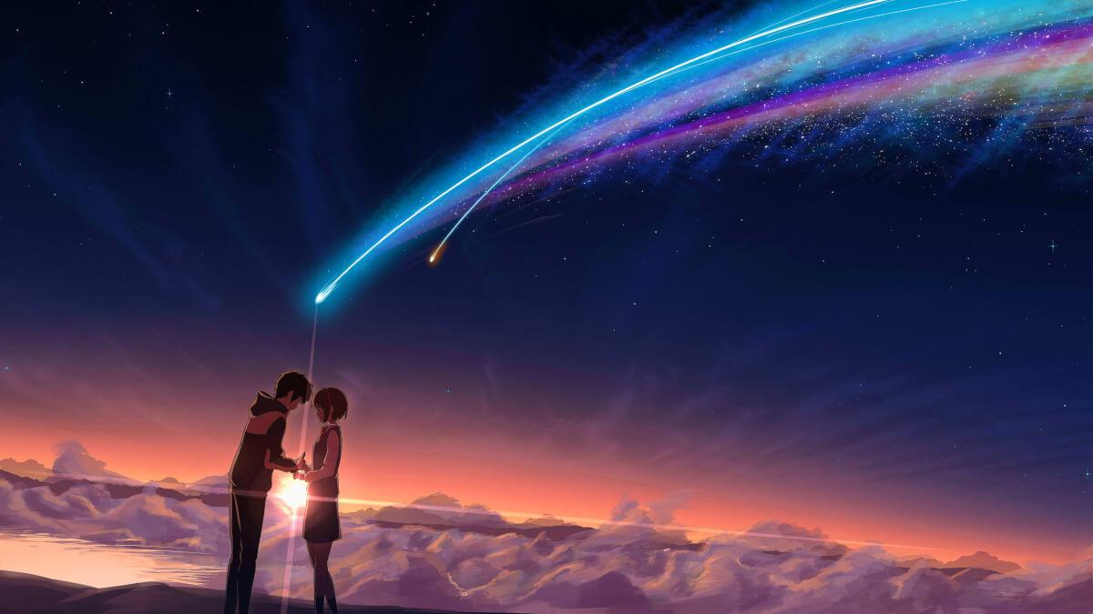 """0fw2dyp5f1521 - A DELICADA arte do diretor Makoto Shinkai, de """"Your Name"""", na NETFLIX"""