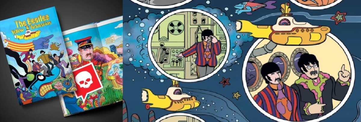 "262 the beatles yellow submarine 2 - ""The Beatles - O Submarino Amarelo"", de George Dunning"