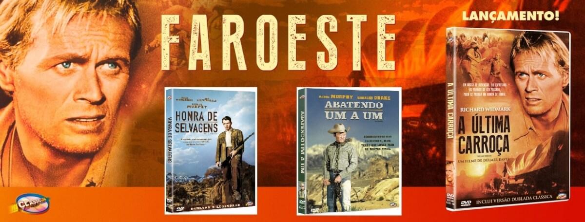 """propaganda faroeste2 - Chumbo Quente - """"Abatendo Um a Um"""", """"A Última Carroça"""" e """"Honra de Selvagens"""""""