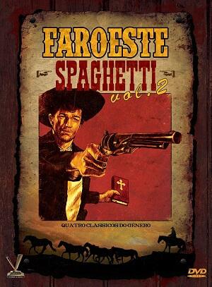 """18033129 - Faroeste Spaghetti - """"A Morte Anda a Cavalo"""", """"Quando os Brutos se Defrontam"""", """"Réquiem para Matar"""" e """"Chuck Mull"""""""