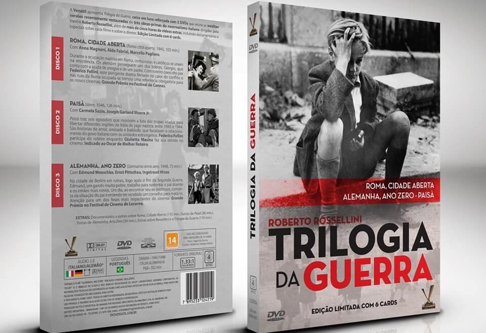 trilogia da guerra - Trilogia da Guerra, de Roberto Rossellini
